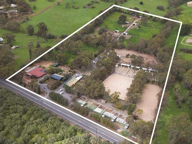 Gainsborough Equestrian Centre in South Australia is on the market for $1.79 million. Picture: Harcourts Barossa Valley/realestate.com.au