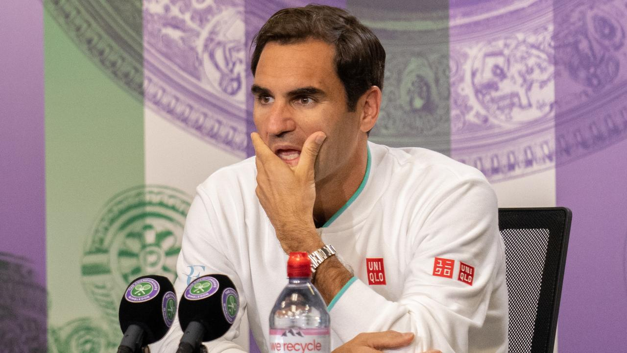 Roger Federer isn't getting any younger.