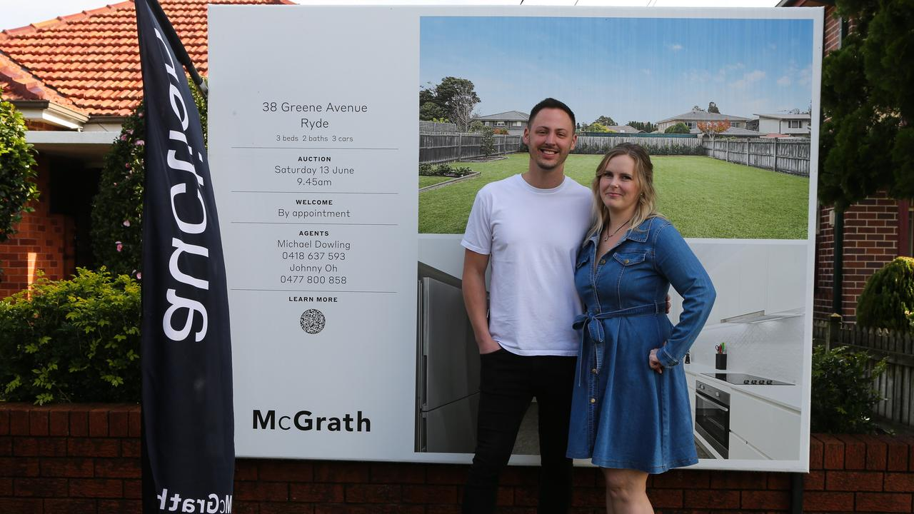 Ryde home sellers Sam and Nathan Moscato got a price way above expectations. Picture: Gaye Gerard