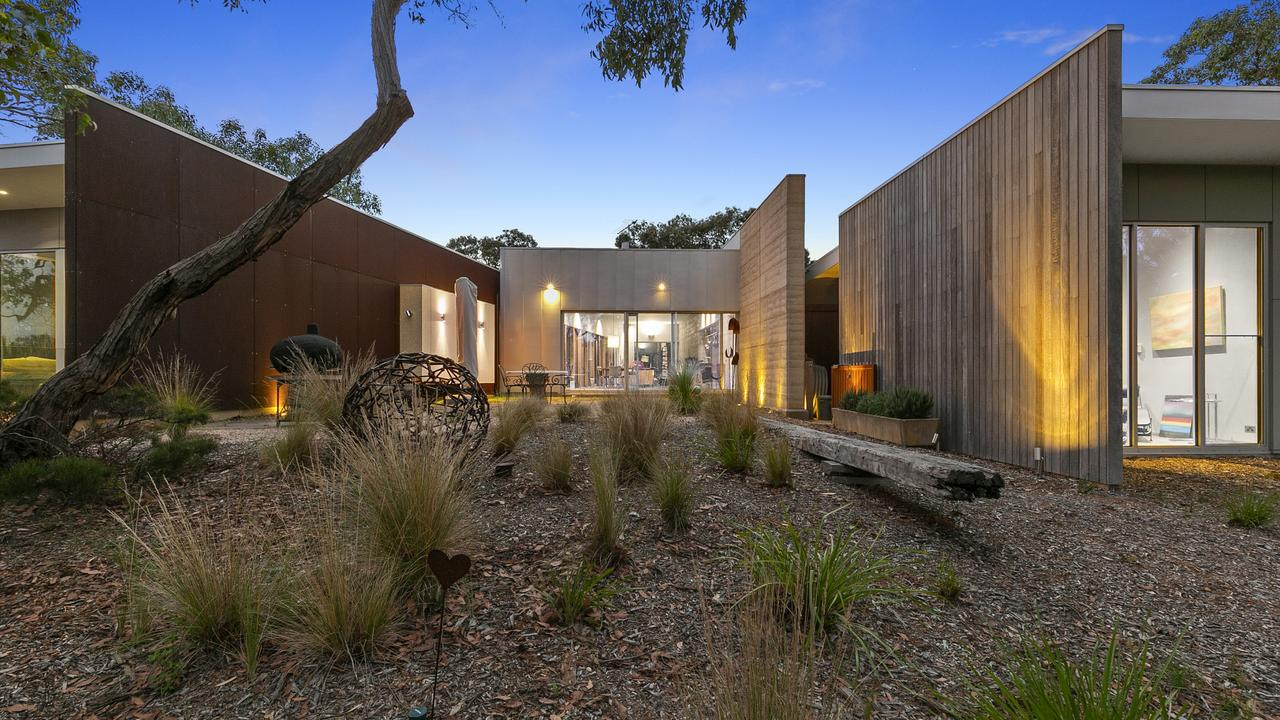No. 1110 Great Ocean Rd, Bellbrae has elements of both sea and tree change.