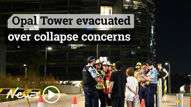 Sydney's Opal Tower evacuated over 'cracking noises'
