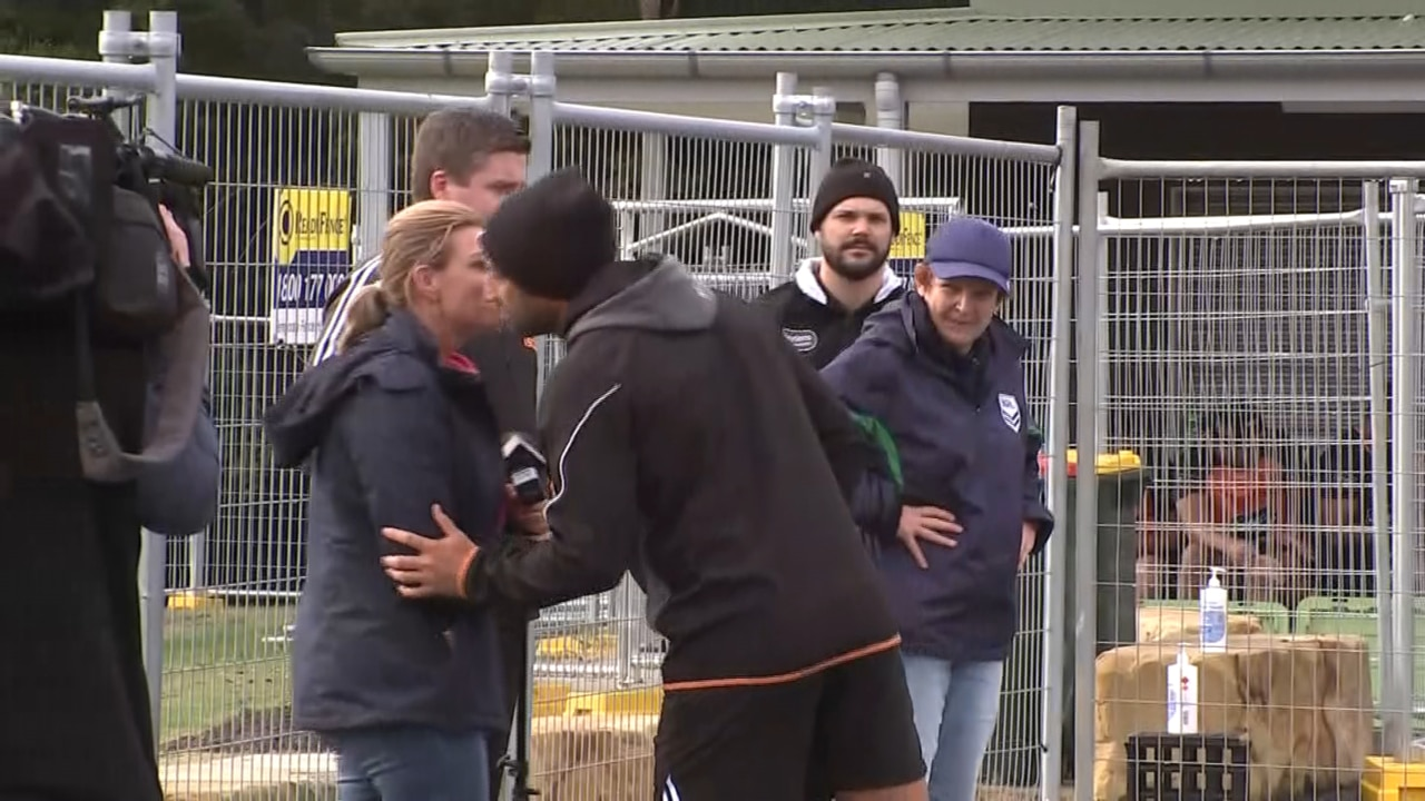 EXCLUSIVE: Benji Marshall quarantined for kissing TV journalist at training