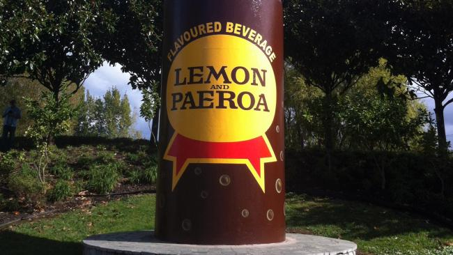 "5/8Connect the dots with our local big things Just about every New Zealand town has its defining ""big thing"". Paeroa has its L&P bottle (pictured), Ohākune has its carrot, Taihape has its corrugated iron gumboot, and Tīrau has its corrugated iron sheep, dog, and shepherd. These are reminders of the quirks of the New Zealand psyche. They're also a built-in shorthand for measuring distance. It's two hours from the Tīrau sheep to Auckland, and several minutes from the Morrinsville Mega Cow to literally anywhere else.   Picture: Getty"