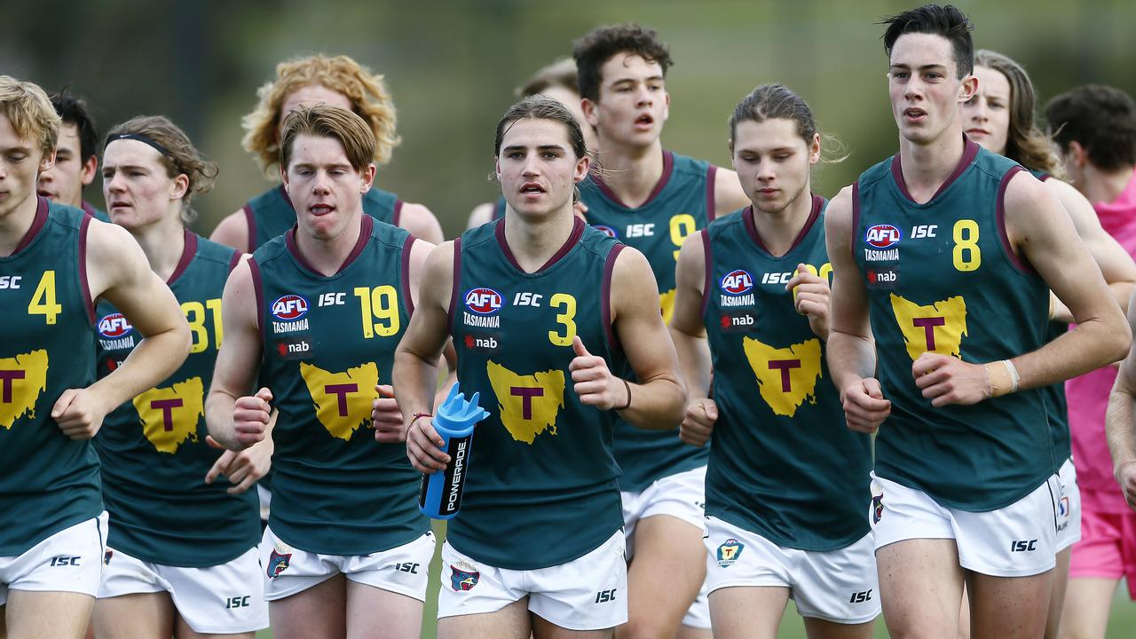 Tasmania wants the AFL to commit to expansion, ideally around 2025. Picture: MATT THOMPSON