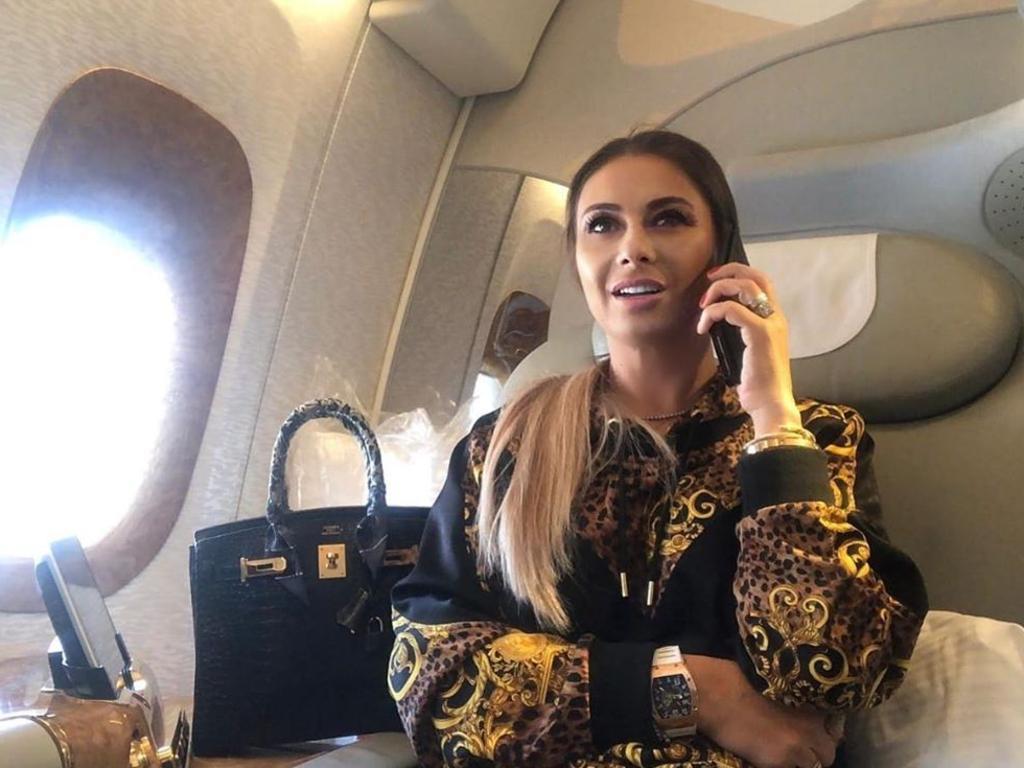 Football agent Anamaria Prodan is a former Playboy model.
