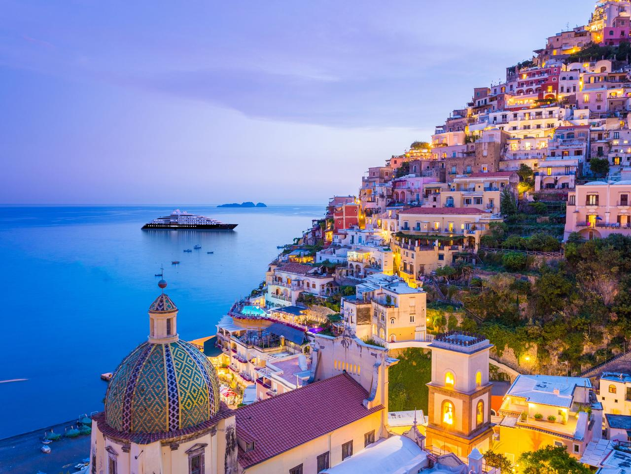 ESCAPE: Cruise cover story, Christine Retschlag, Oct 1 - Scenic Eclipse, Positano, Italy. Picture: Scenic