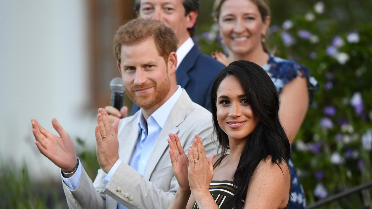 """Harry and Meghan were """"very relaxed"""" about the release of Finding Freedom. Picture: Getty Images."""