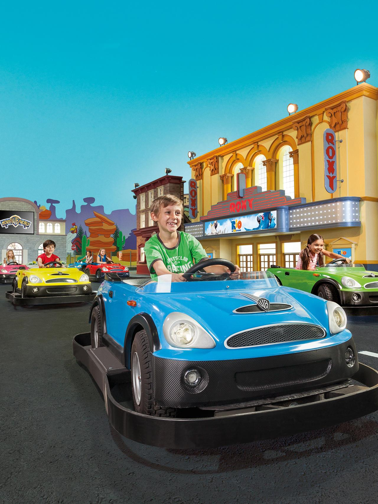 Fun and educational ... Warner Bros. Movie World Junior Driving School. Picture: Supplied.