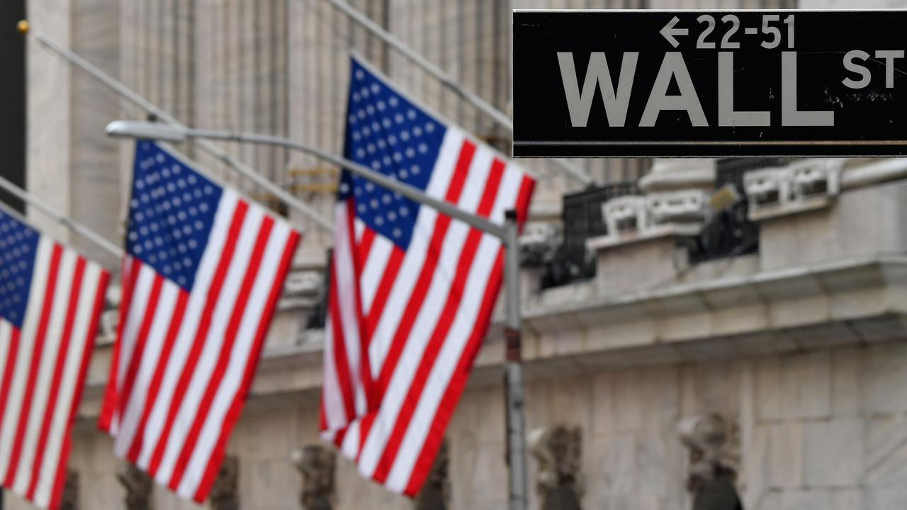 The US sharemarket fell sharply overnight and the ASX followed suit. Picture: Angela Weiss/AFP