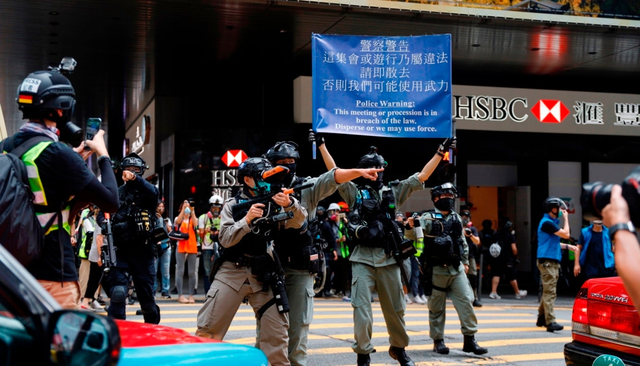 Australia should 'open our arms' to Hong Kongers fleeing despotic China