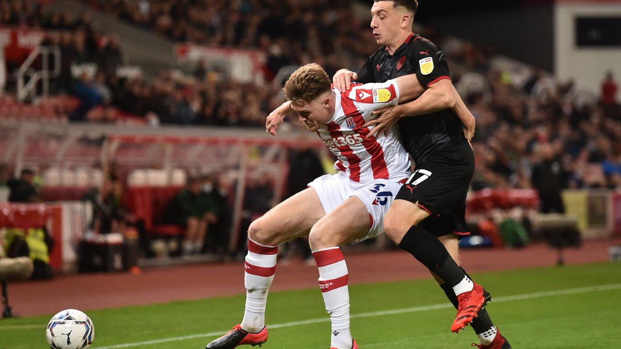 Harry Souttar was the subject of a scouting mission from Premier League side Everton. Picture: Nathan Stirk/Getty Images