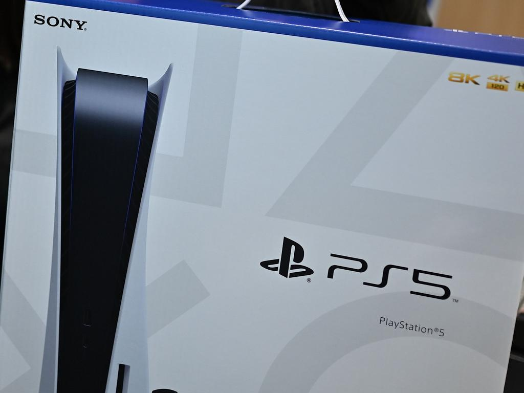 No more PS5 consoles are coming to Australian shores before next year. Picture: Charly Triballeau/AFP
