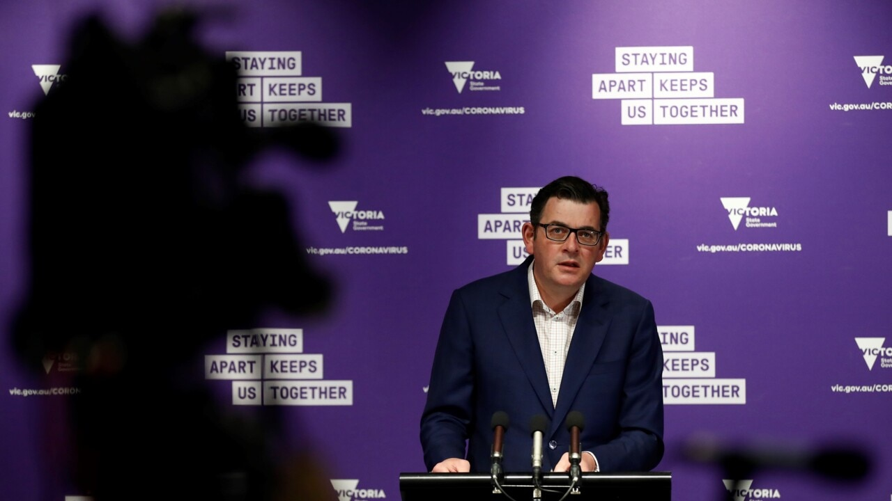 Andrews praises Victorians after drop in COVID cases