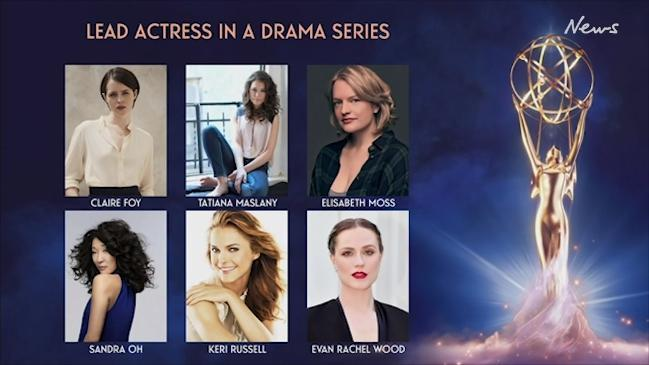 Emmy nominations for Lead Actress in a Drama series