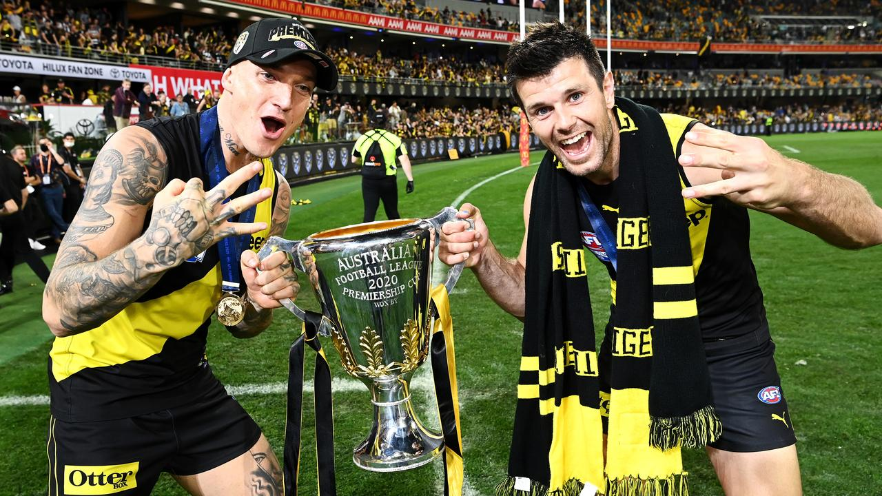 Who can stop Dustin Martin and Trent Cotchin in 2021? Picture: Quinn Rooney