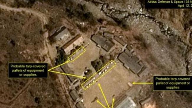 Activity resumes at North Korea's nuclear site. Picture: 38 North