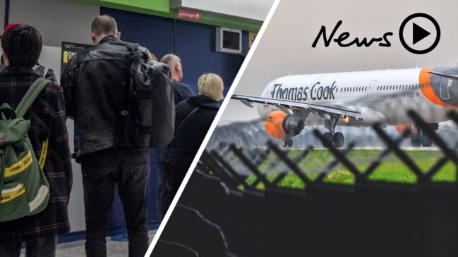 Thomas Cook collapse leaves hundreds of thousands stranded