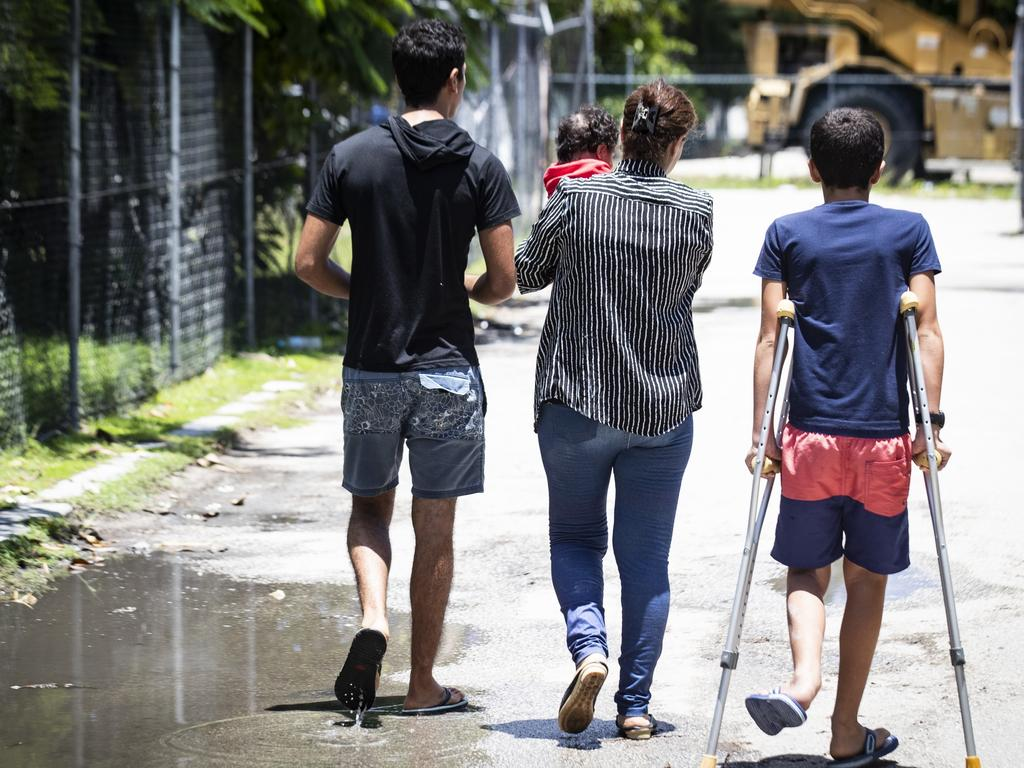 Australia has been heavily criticised by the UN and human rights groups for the use of offshore detention. Picture: Jason Oxenham/Pool Photo via AP