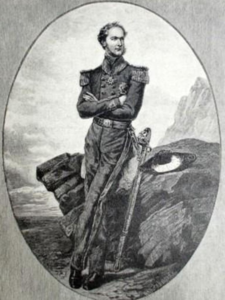 Leutenant-governor Sir Charles Hotham