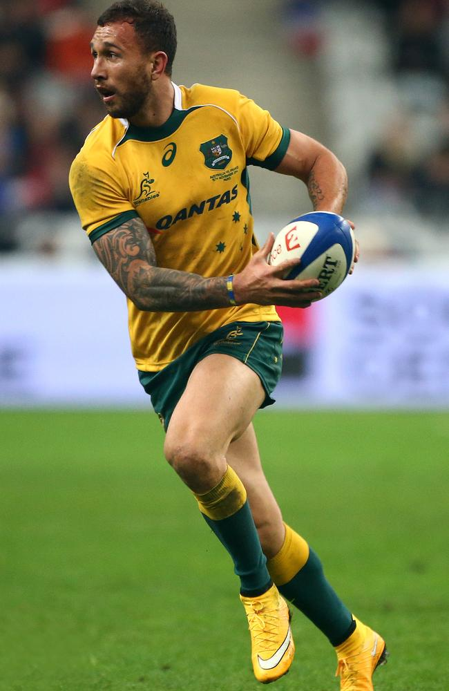 Quade Cooper wants a shot at Rugby World Cup redemption.