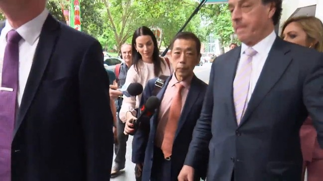 RAW: Ernest Wong leaves ICAC
