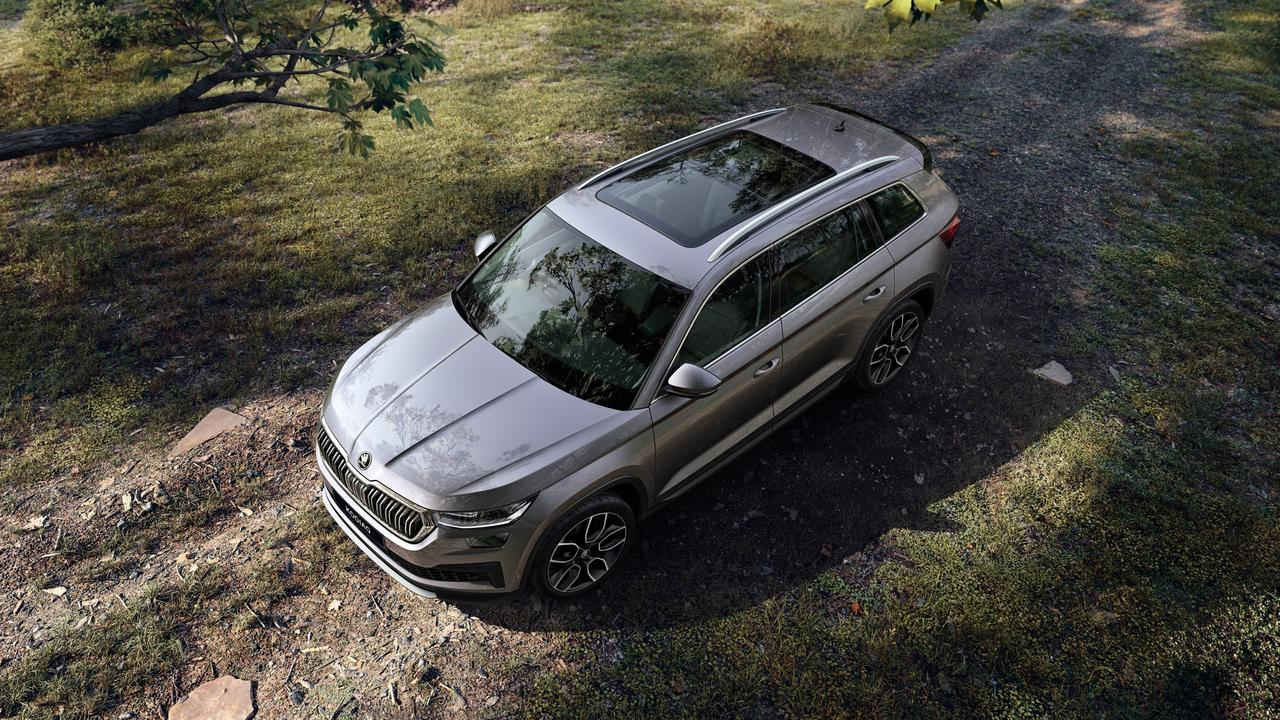 The Skoda Kodiaq was a previous winner of News Corp's Car of the Year award.