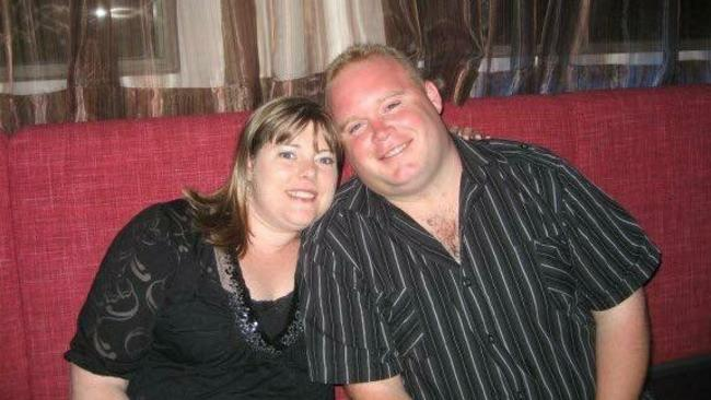 Kylie and Phillip Mackey, pictured before their health change, have completely transformed their lives. Picture: Supplied