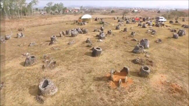 Laos' Plain of Jars recreated in virtual reality