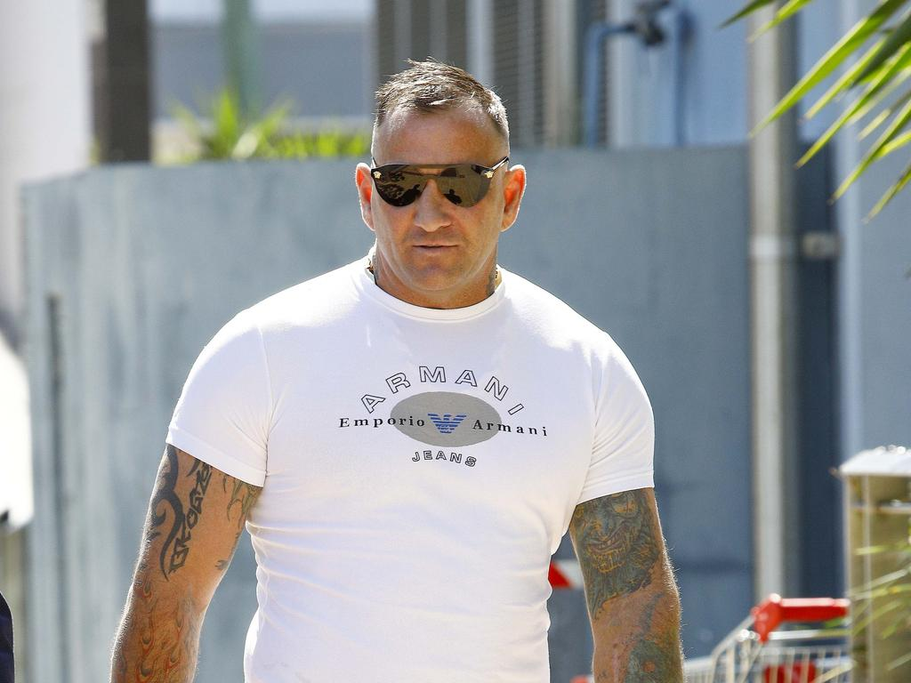 Shane Bowden was murdered in a parked car outside his Pimpama house on Monday morning. Picture: Tertius Pickard