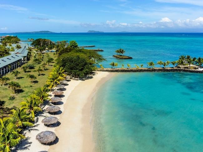 MY ESCAPE OFFER — SAMOA, 7-DAY PACKAGE, $1640 Get away to Samoa for six nights and check in at the Sheraton Samoa Beach Resort from $1640 a person, including return flights from Australia. Book before July 31, 2019 and kids stay and eat for free. A perfect base for families, the resort is close to the airport and features a kid's club, three restaurants and a bar. escape.com.au/dealsoftheweek
