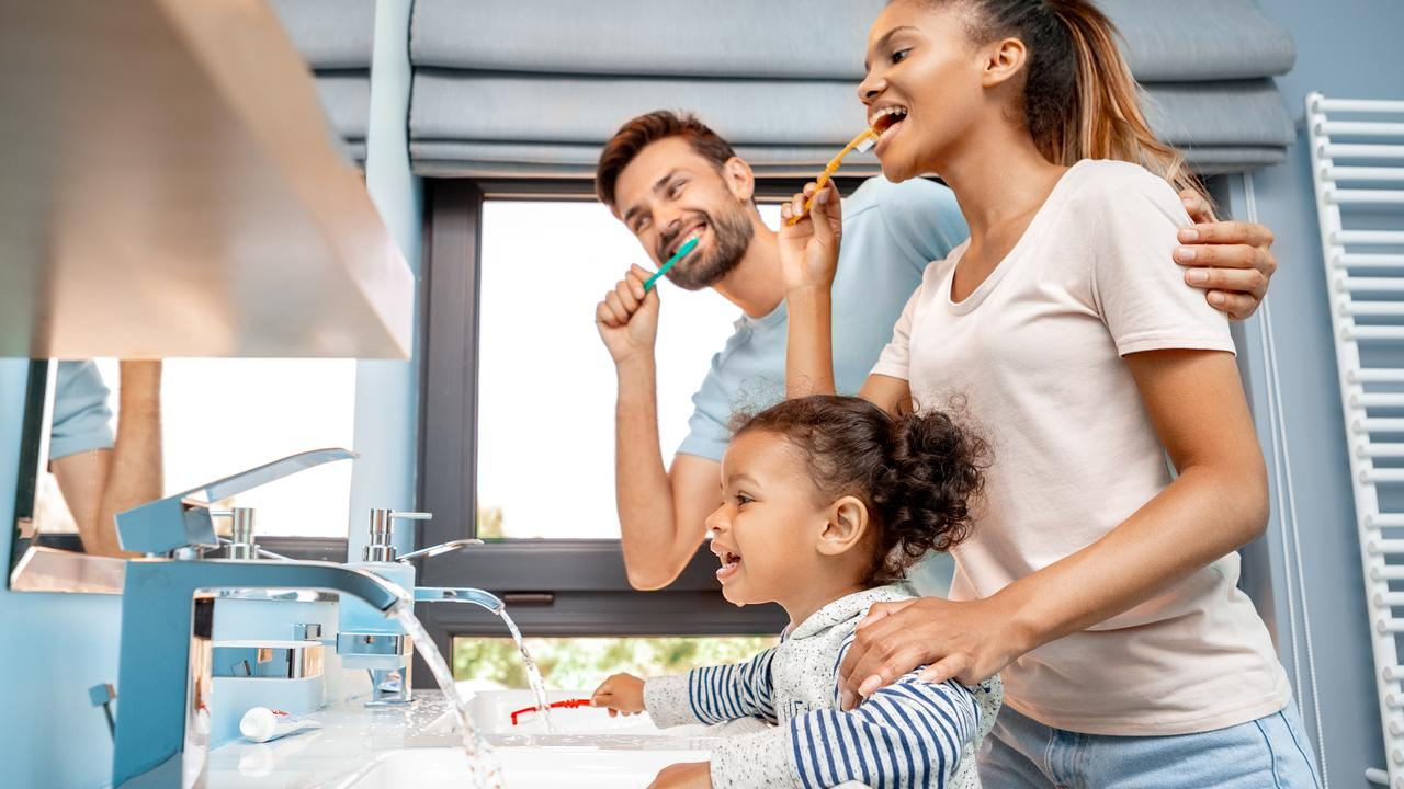 One in four parents said they were motivated to brush their teeth to be a good role model for kids.