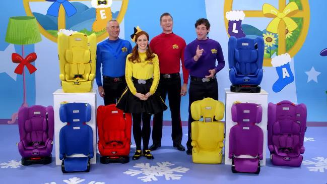 The Wiggles launch new car seats with InfaSecure