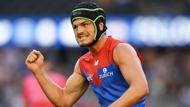 Angus Brayshaw has been left out of Melbourne's team.