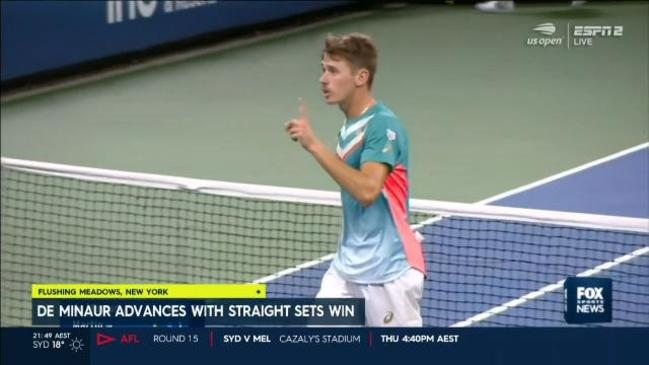 De Minaur advances easily