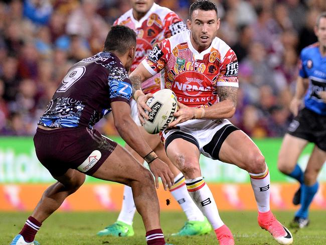 Darius Boyd may have to move to the wing to accomodate Billy Slater's return.