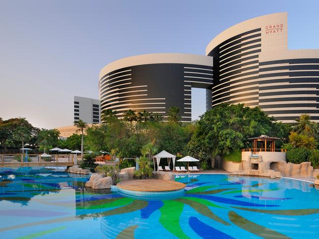 UNITED ARAB EMIRATES 4-DAY PACKAGE, $599 (FOR TWO) Indulge in a five-star stay at Grand Hyatt Dubai for three nights and pay from $599 for two people, down from $2323. The couple's deal offers Club access including breakfast daily and free-flow drinks and canapes each night. The family package deal comes with breakfast daily, dinner with free-flow drinks at night and kids' club access for up to fourchildren. All deals include private airport transfers and more. Book by December 5, 2019, and travel in select periods until December 31, 2021. luxuryescapes.com