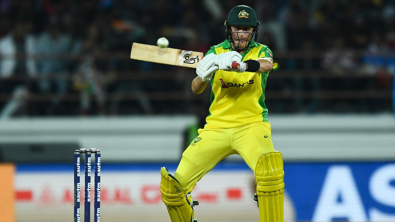 Marnus Labuschagne was outside the 20 man ODI list in March, but now finds himself near the top. Picture: AFP.