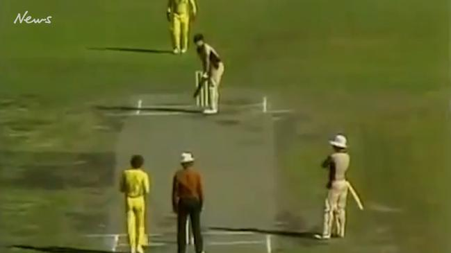 Trevor Chappell's infamous underarm delivery