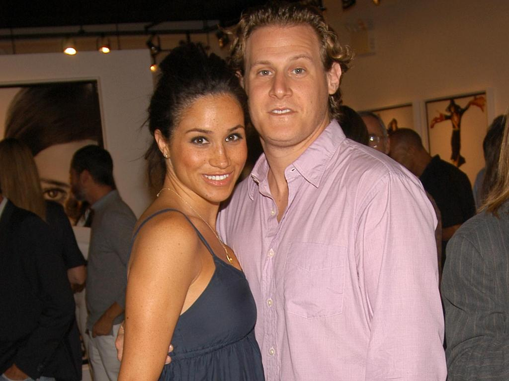 """Meghan was reportedly looking for """"a new man"""" during visits to London after the failure of her marriage to Trevor Engelson. Picture: Getty"""