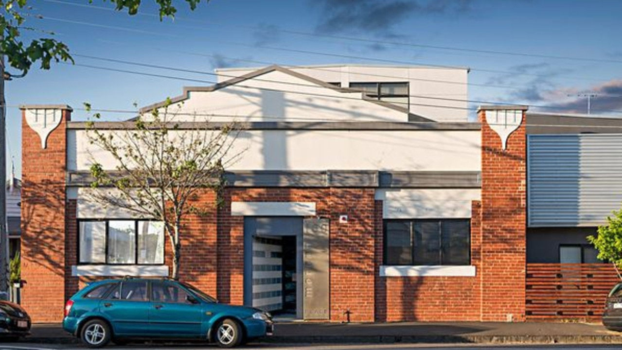 The apartment inside the Art Deco warehouse is set to sell for $800,000-$880,000.