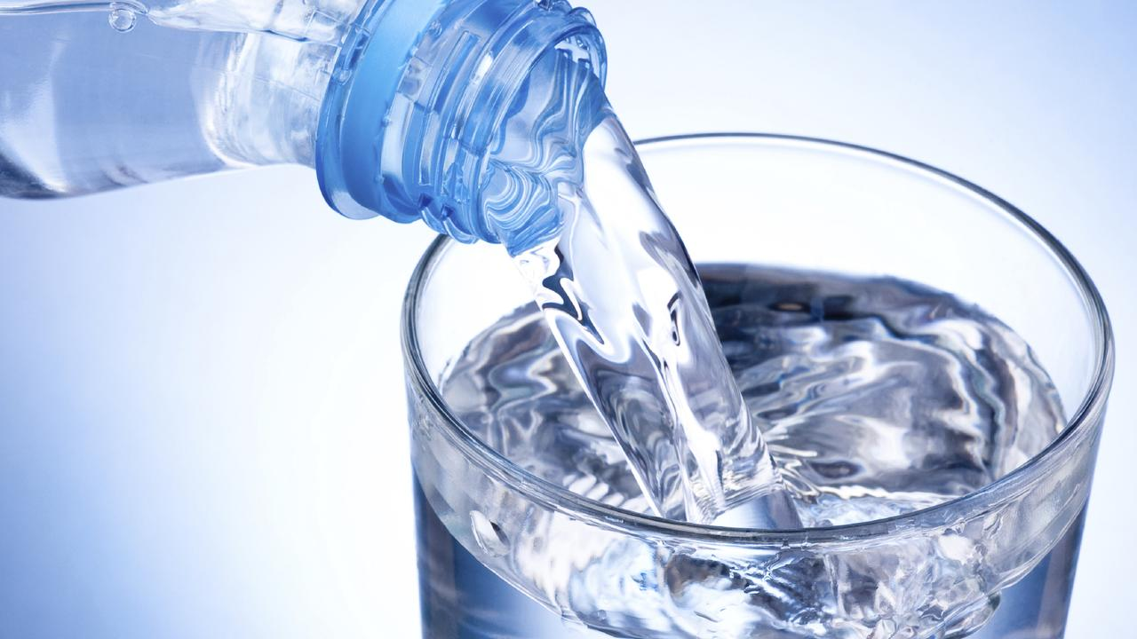 Supplied Money Bottled water, generic, shopping