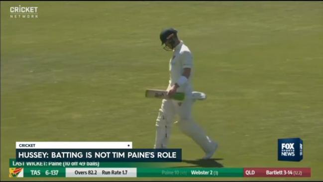 Batting is not Paine's role