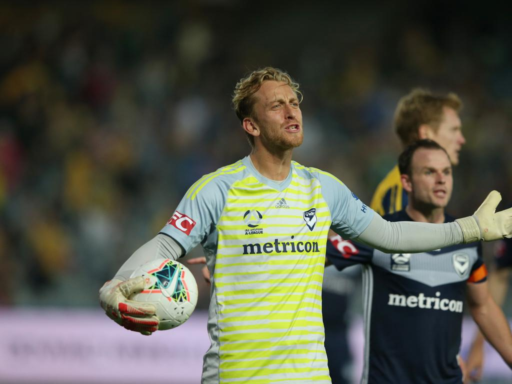 Lawrence Thomas is leaving Melbourne Victory for Denmark. Picture: Ashley Feder/Getty Images