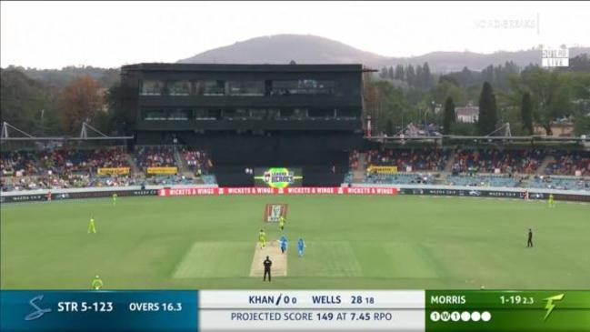 Wicket: Adelaide Strikers, Rashid Khan - 21 Dec 19