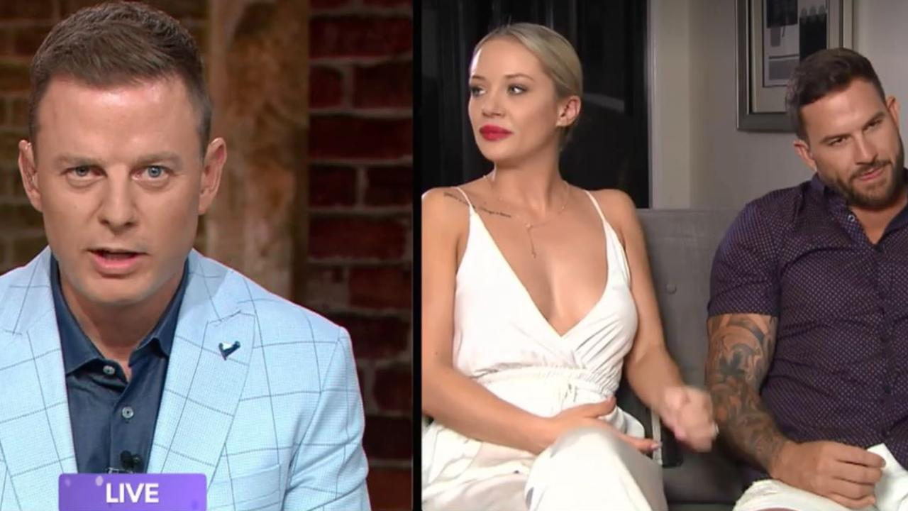Ben Fordham grilled the couple on Talking Married.