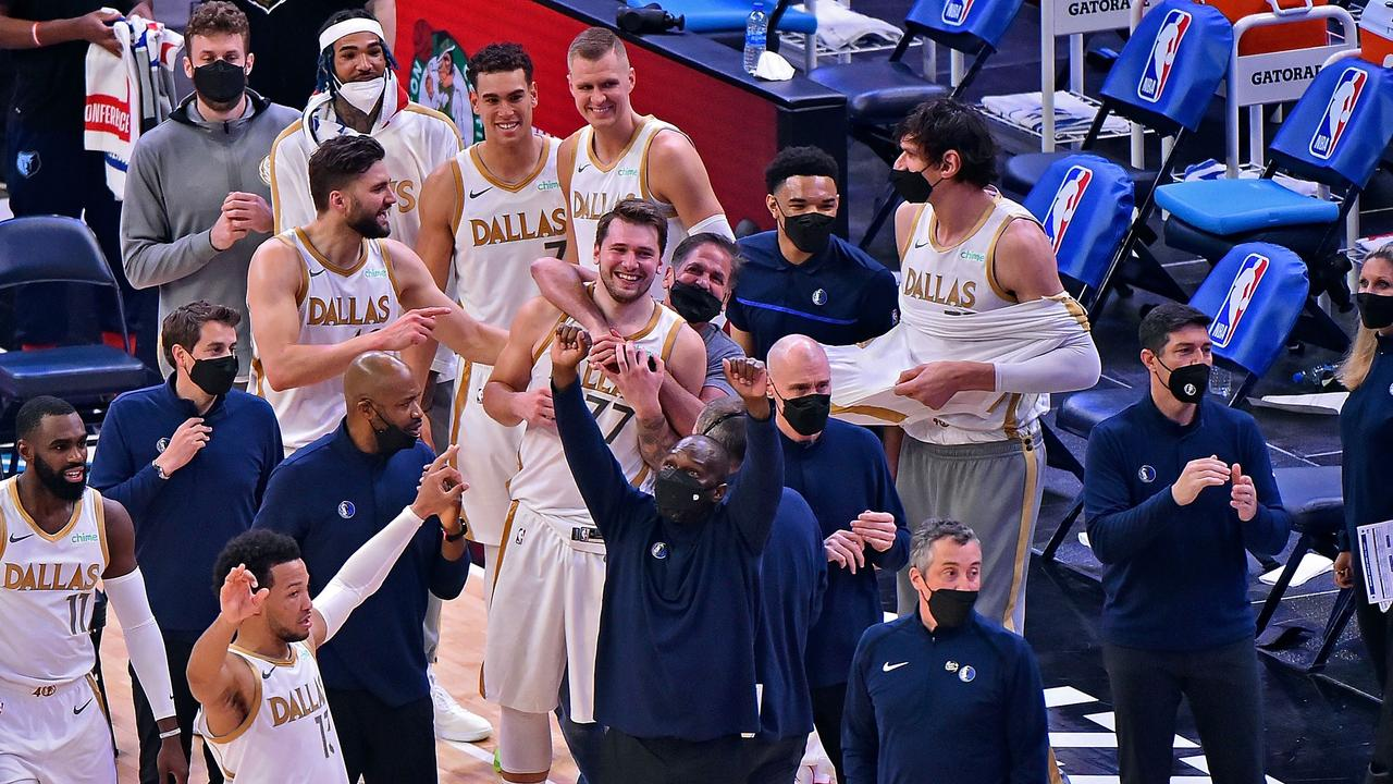 Luka stuns with 'miracle' game-winner; Durant's hilarious reaction to 'KD sucks' chant: NBA Wrap