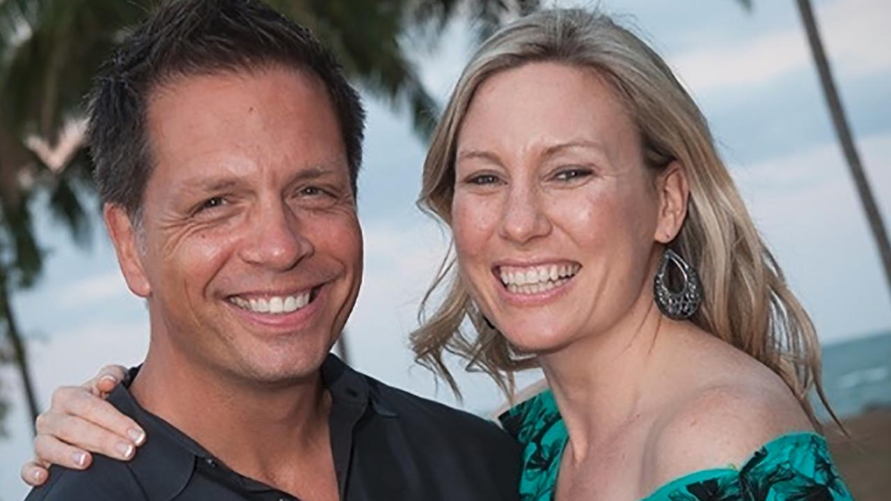 Justine and Don lived together for two years before her death. Picture: Supplied