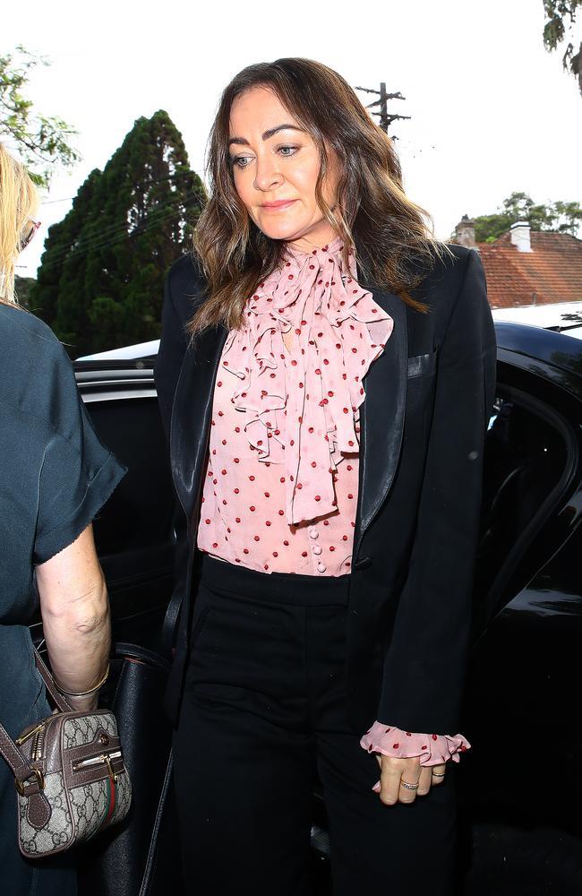 Michelle Bridges arrived at court on Tuesday. Picture: Matrix
