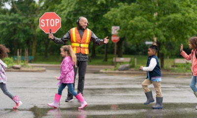 Why lollipop people are the unsung heroes of school pick-up