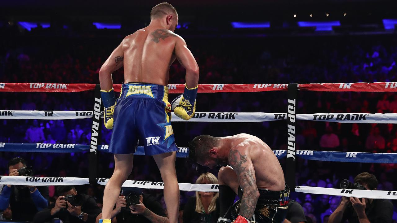 Lomachenko ready to get back in the ring.